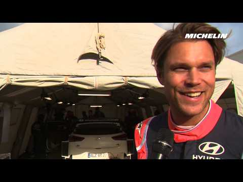 @AMikkelsenRally's testing - 2019 @OfficialWRC #Rallyemontecarlo - Michelin Motorsport
