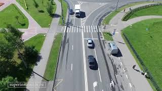 Экзаменационный маршрут ГИБДД Северное Бутово маршрут №4