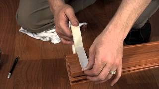 Cutting a Via or Contempra Folding Door