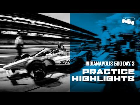 2020 インディ500 練習走行3日目のハイライト動画