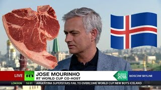 'Iceland boys have been eating meat for breakfast since they were kids' - world according to José