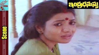 Jeevitha Emotional Scene ||  Indradhanussu Movie || Rajashekar, Jeevitha || MovieTimeCinema