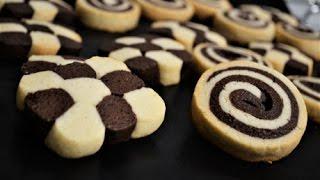 saftiges schwarz wei gebck schachbrettkekse siyah beyaz kurabiye - Schwarz Weis Geback Muster Anleitung