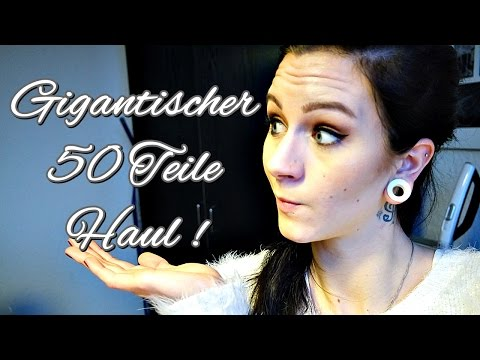 50 TEILE XXL HAUL + REVIEW l DROGERIE l HIGH END l PFLEGE l KOSMETIK ll Mami VonTami