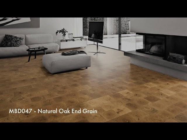 END GRAIN Oak Hardwood Flooring