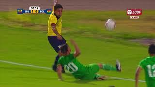 Resumen: Ecuador 3 Bolivia 0   Amistoso Internacional