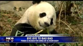 National Zoo panda heads to China