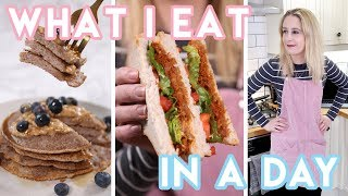 What I Eat In A Day 2018 😇 Low FODMAP, Vegan/Plantbased, Gluten Free Recipes | Becky Excell