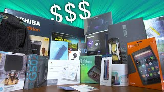 Massive Back to School Tech Haul! (30 Minute Challenge)