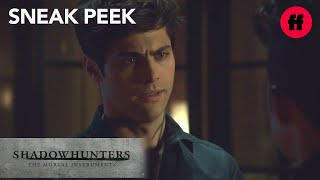 Shadowhunters | Season 3, Episode 8 Sneak Peek: Malec Discuss Saving Jace | Freeform