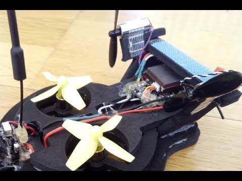 Hovercraft Whoover 2s FPV  F3 EVO FC from Banggood