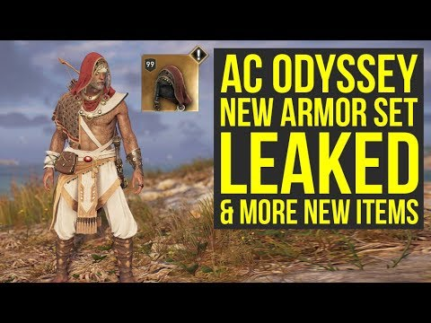 Assassin's Creed Odyssey DLC - New Armor Set, Mount & More LEAKED (AC Odyssey DLC)