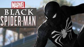 Black Spiderman Full Movie Black Cat Ending 4K | Superhero Movies FXL All Cutscenes (Game Movie)