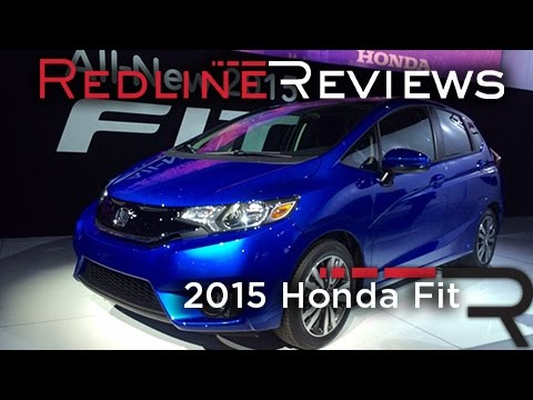 2015 Honda Fit – Redline: First Look – 2014 Detroit Auto Show