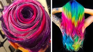 SURPRISING COLORFUL HAIR TRANSFORMATIONS THAT YOULL LOVE