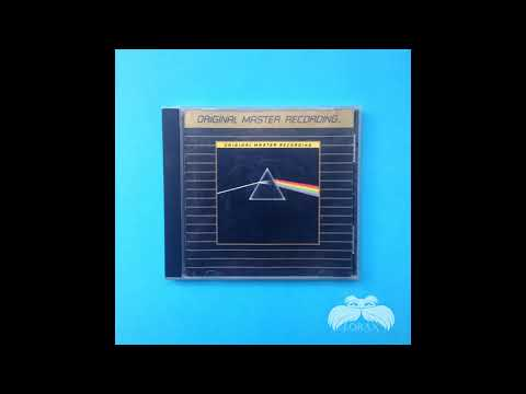 pink floyd mastering The Dark Side of the Moon gold disc