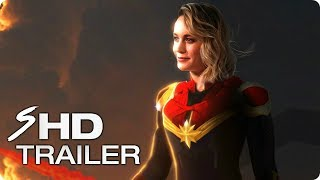 CAPTAIN MARVEL (2019) First Look Trailer - Brie Larson Marvel Movie [HD] Concept | Kholo.pk