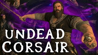 Skyrim SE Builds – The Undead Corsair – Vampire Pirate Modded Build