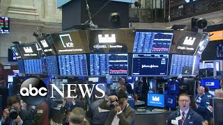 Stock market continues to plunge l ABC News