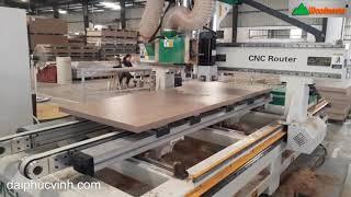 MÁY KHOAN BẢN LỀ CỬA -  ĐỤC Ổ KHOÁ CỬA CNC D2400 Holztek phần 2
