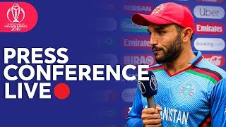 Post Match Press Conference Bangladesh v Afghanistan    ICC Cricket World Cup 2019