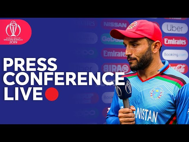 Post Match Press Conference Bangladesh v Afghanistan  | ICC Cricket World Cup 2019