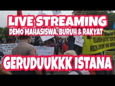 LIVE 🏀 // JAKARTA // Ratusan Mahasiswa, Buruh & Rakyat Mendatangi Istana Untuk Menyampaikan Aspirasi
