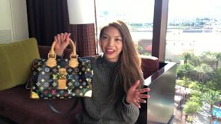 LV Speedy 30 Multicolor Review | Attaching A Bag Strap On A Classic Speedy
