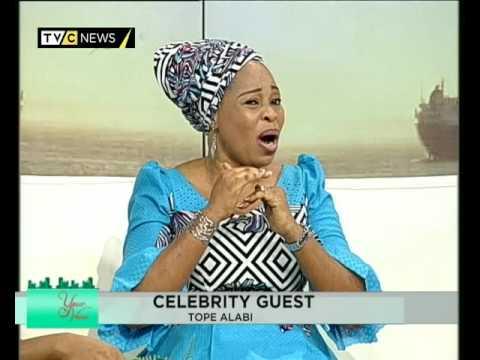 I love showing my skin - Tope Alabi