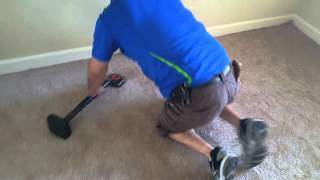 An easy way of installing carpet in your bedroom with 3 easy to tools