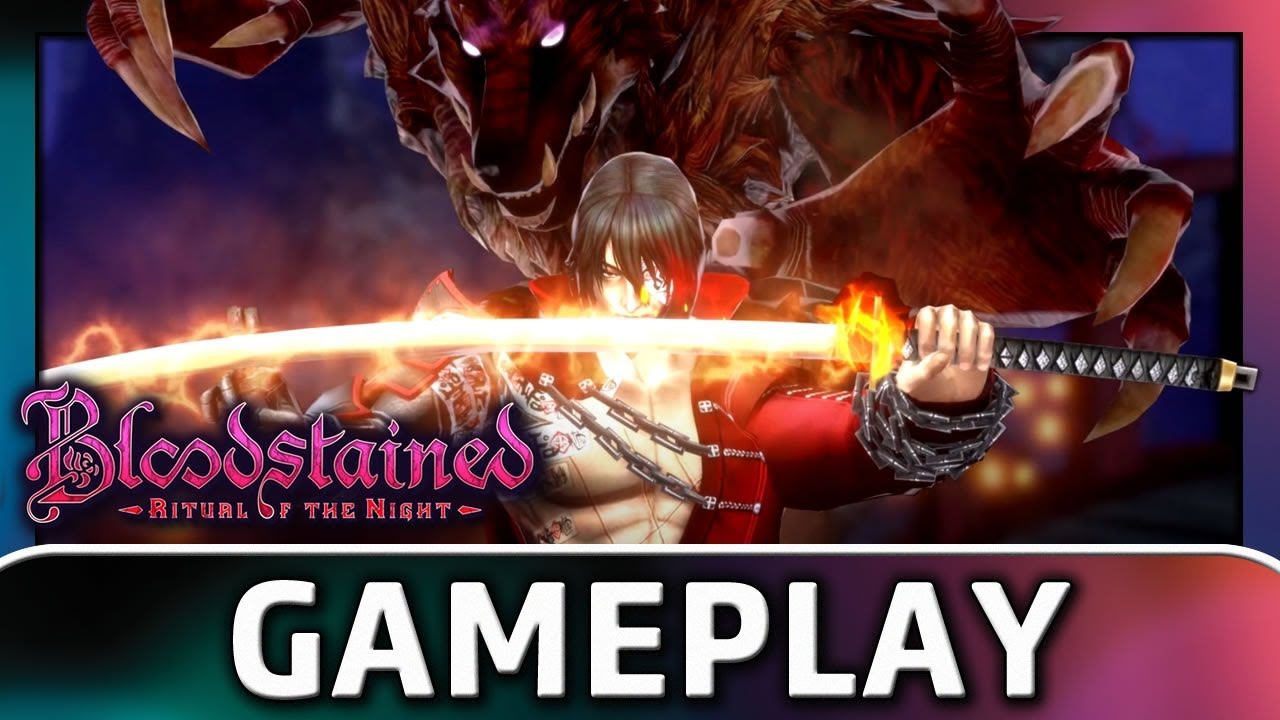Bloodstained: Ritual of the Night | Zangetsu Gameplay
