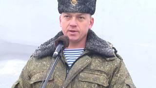 2016-11-16 г. Брест. Проводы в запас военнослужащих 38 ОМШБ.  Новости на Буг-ТВ.