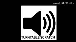 TURNTABLE SCRATCH SOUND EFFECT
