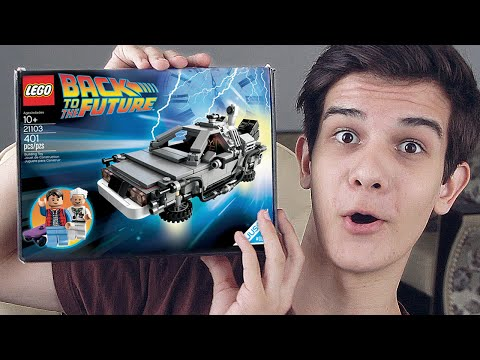 LEGO Back to the Future (21103) - НАБОР НА ОБЗОР