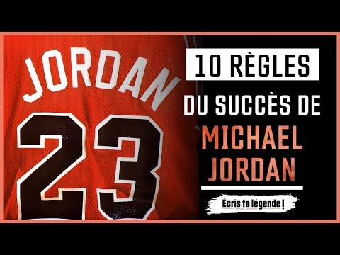 10 règles du succès de Michael Jordan !