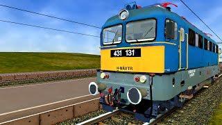 preview picture of video '[HD] OpenRails: MÁV 41-es vasútvonal (Dombóvár-Kaposvár) 2013.10.17'