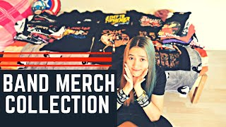 MY BAND MERCH COLLECTION!