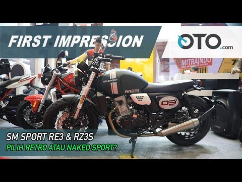 SM Sport RE3 & RZ3S | First Impression Retro dan Naked Sport | OTO.com