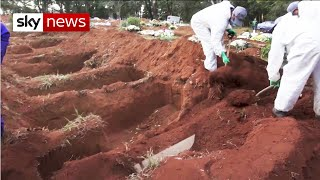 Brazilians Dig Mass Graves As Bolsonaro Dismisses COVID-19 Pandemic As A Little Flu