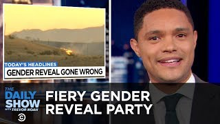 A Fiery Gender Reveal Party, Ohio's Bitcoin Gambit & Racist Charity Volunteers | The Daily Show