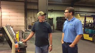 Brian: Shur-Co Metal Fabrication Department Manager