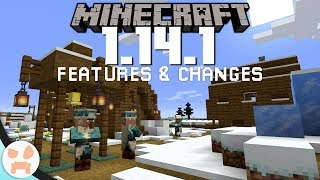 EVERYTHING New  Changed in Minecraft 1.14.1!
