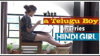 When a Telugu Boy marries Hindi Girl || latest telugu short film || Gv Ideas