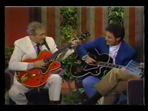 Chet Atkins + Vince Gil Together. Rare.