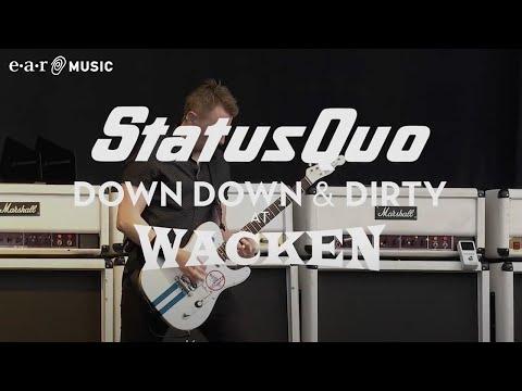 "Status Quo ""Caroline"" (Live at Wacken 2017) - from ""Down Down & Dirty At Wacken"""