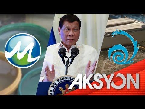 Nasa P10.8-B multang sa gobyerno, 'di na sisingilin ng Maynilad at Manila Water