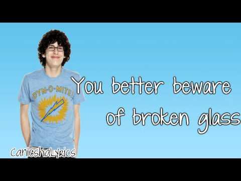 Matt Bennett - Broken Glass (Lyrics Video) HD