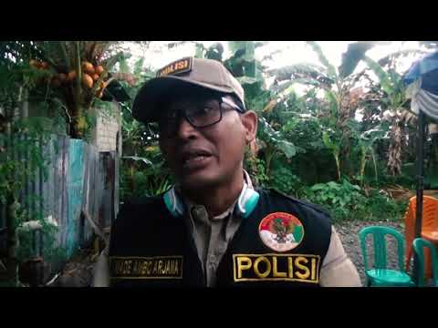Polisi Pi Ajar Binmas Noken di Kampung Kimberly, Tembagapura, Kabupaten Mimika