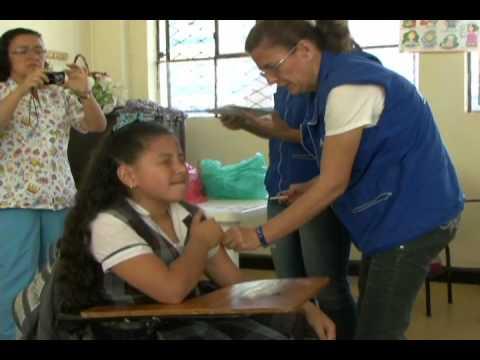 01/09/12 Se llevó a cabo la jornada de vacunación contra el VPH