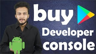 {HINDI} How To Purchase Google Play Developer Console   Register For A Google Play Developer Account
